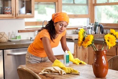 bí quyết làm việc nhà thật đơn giản